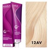 Kadus Permanent 12AV High Lift Blonde Ash Violet 2oz