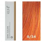 Keune Semi Color 0/34 Golden Copper Mix Tone 2oz