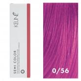 Keune Semi Color 0/56 Mahogany Red Mix Tone 2oz
