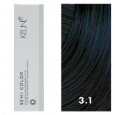 Keune Semi Color 3.1 Dark Blue Brown 2oz