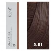 Keune Semi Color 5.81 Light Barista Brown 2oz