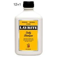 Layrite Daily Shampoo 10oz 12+1
