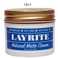 Layrite Natural Matte Cream 4.3oz 12+1
