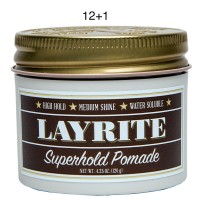 Layrite Superhold Pomade 4.3oz 12+1