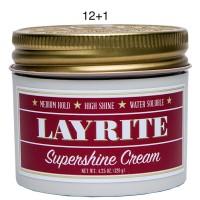 Layrite Supeshine Cream 4.3oz 12+1