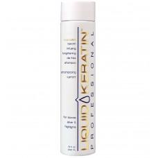 Liquid Keratin Infusing Brightening De-frizz Shampoo 8oz