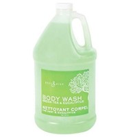 Body Spa Body Wash Gallon - Green Tea & Eucalyptus