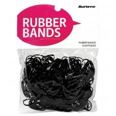 Marianna Elastic Rubber Bands Black 250pcs