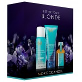 Moroccanoil Better Your Blonde Mini 3pk