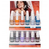 OPI GelColor Muse Of Milan Acrylic Display 36pc