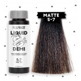 Pulp Riot Liquid Demi Color 5-7 Matte 2oz
