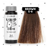 Pulp Riot Liquid Demi Color 5-8 Brown 2oz