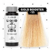 Pulp Riot Liquid Demi Color Booster -33 Gold 2oz