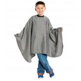 Scalpmaster Kids Striped Barber Cape