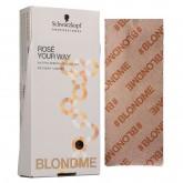 """BLONDME x Framar Rosé Your Way 5x12"""" Foil 500ct"""