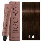 Igora Color10 4-6 Medium Auburn Brown 2oz