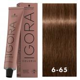 Igora Color10 6-65 Dark Blonde Auburn Gold 2oz
