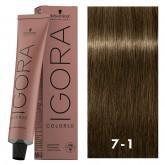 Igora Color10 7-1 Medium Blonde Cendre 2oz