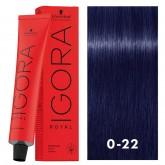 Igora Royal 0-22 Violet Blue 2oz