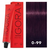 Igora Royal 0-99 Dark Violet Intensifier 2oz