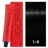 Igora Royal 1-0 Black 2oz
