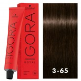 Igora Royal 3-65 Dark Brown Aubum Gold 2oz