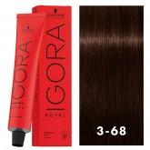 Igora Royal 3-68 Darkest Red Brown 2oz
