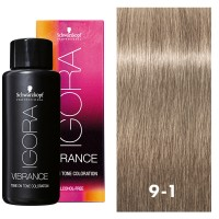 Igora Vibrance 9-1 Extra Light Blonde Cendre 2oz
