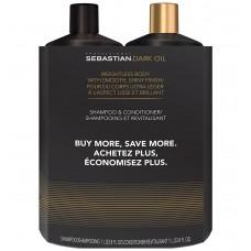 Sebastian Dark Oil Litre Duo 33.8oz 2pk