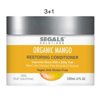 Segals Fruit Solutions Restoring Mango Conditioner 4oz 3+1