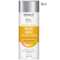 Segals Fruit Solutions Mango Moisturizing Shampoo 8oz 3+1
