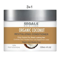 Segals Fruit Solutions Coconut Revitalizing Conditioner 4oz 3+1