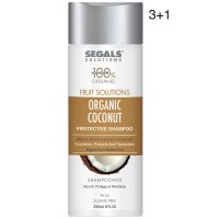 Segals Fruit Solutions Protective Coconut Shampoo 8oz 3+1