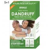 Segals Solutions Dandruff Flake Removal Starter Kit 4oz 5+1