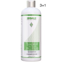 Segals Solutions Dandruff Flake Removal Shampoo 8oz 3+1