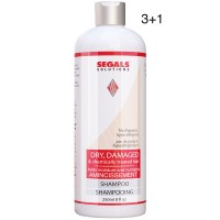 Segals Solutions Dry Damaged Hair Conditioner 8oz 3+1