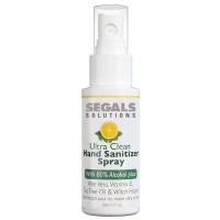 Segals Solutions Ultra Clean Hand Sanitizer Spray 2oz