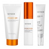 Skeyndor Power C+ Energizing Emulsion Holiday Trio