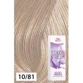 Wella Color Fresh 10/81 Lightest Blonde/Pearl Ash 2.5oz