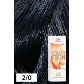 Wella Color Fresh 2/0 Darkest Brown/Natural 2.5oz