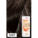 Wella Color Fresh 3/07 Dark/Natural Brown 2.5oz