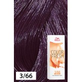 Wella Color Fresh 3/66 Dark Brown/Intense Violet 2.5oz