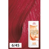 Wella Color Fresh 6/45 Dark Blonde/Red Red-Violet 2.5oz