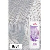 Wella Color Fresh 8/81 Light Blonde/Pearl Ash 2.5oz