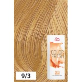 Wella Color Fresh 9/3 Very Light Blonde/Gold 2.5oz
