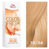 Wella Color Fresh 10/36 Lightest Blonde/Gold Violet 2.5oz