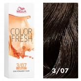 Wella Color Fresh 3/07 Dark/Natural Brown 2.5oz
