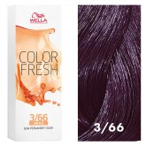 Wella Color Fresh 3/66 Dark Brown/Intense Violet 2.5oz