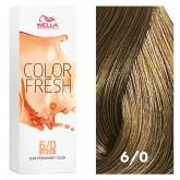 Wella Color Fresh 6/0 Dark Blonde/Natural 2.5oz