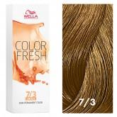 Wella Color Fresh 7/3 Medium Blonde/Gold 2.5oz